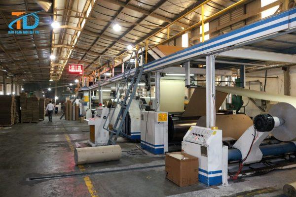 Bao bì Thái Dương xây dựng xưởng sản xuất quy mô lớn phục vụ cho nhiều đối tượng khách hàng khác nhau