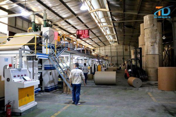 Nhà máy sản xuất bao bì Thái Dương